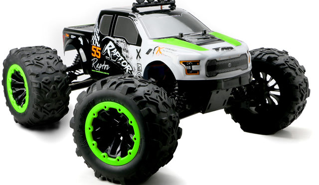 TM E6 RAPTOR 1/8 Brushless Monster Truck – NEW GREEN version