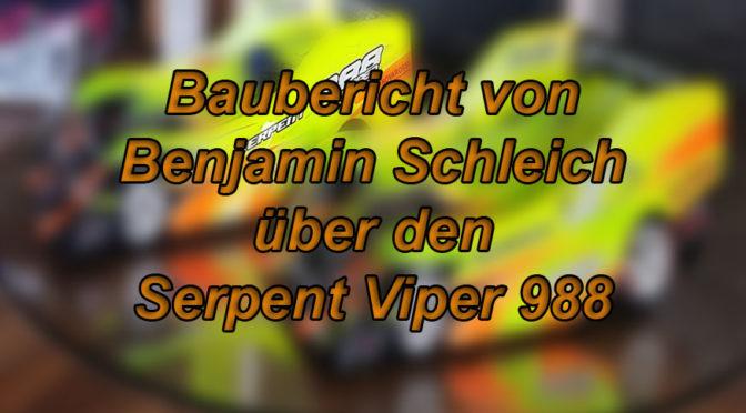 Serpent Viper 988 im Test von Benjamin Schleich