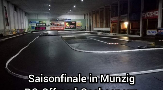 Finale des RC Offroad Sachsencup in Munzig
