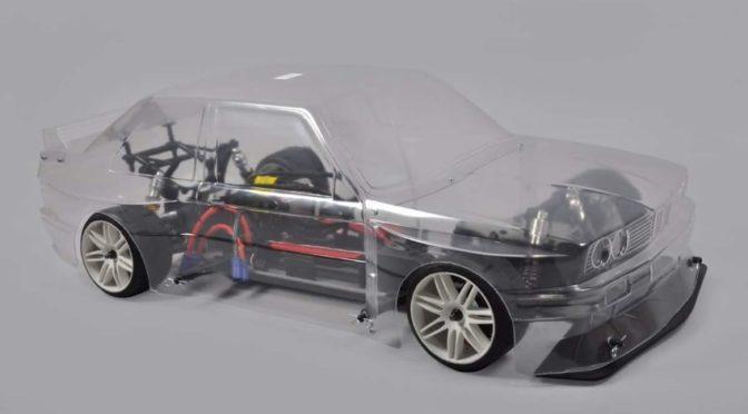 RTR 4WD 510E + BMW E30 Karosserie