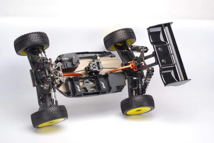 team c tm8e 1 8 brushless buggy. Black Bedroom Furniture Sets. Home Design Ideas