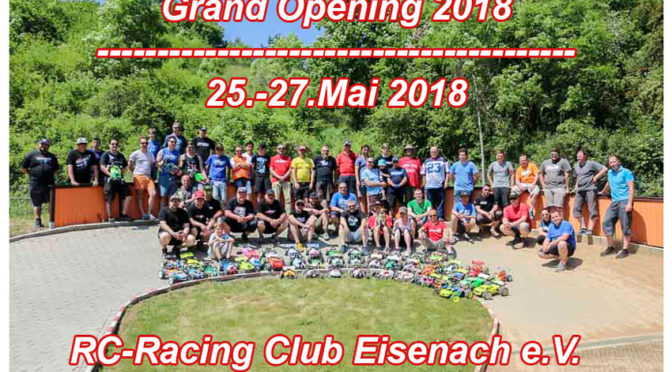 GRAND OPENING 2018 beim RC-Racing Club Eisenach