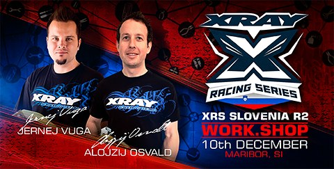 XRAY Work.Shop bei der XRS Slovenia R2