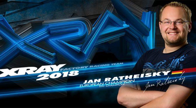 Jan Ratheisky weiter bei Xray