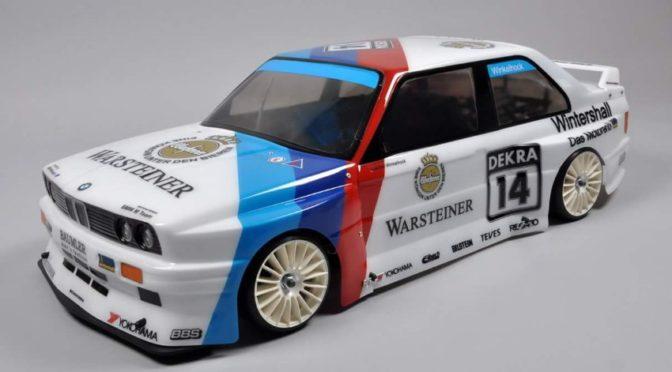 FG Modellsport 4WD Drift Chassis mit BMW M3 E30 Karosserie