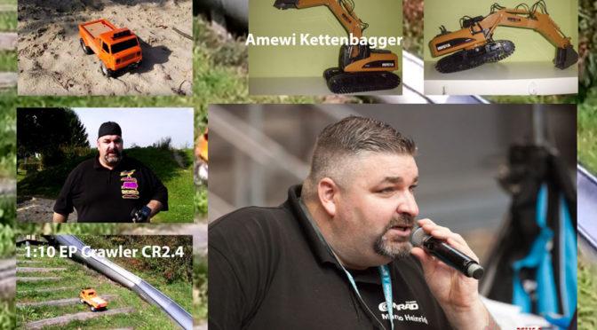 Marco Heinrich – Test des EP Crawler CR2.4 und Amewi EXCAVATOR Kettenbaggers