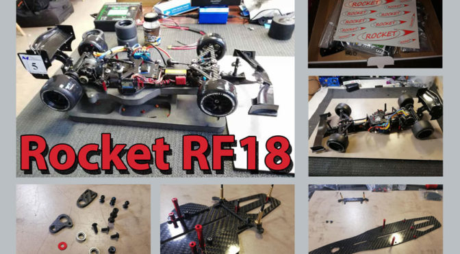 Kleiner Baubericht des Rocket RF18 Formel 1/10