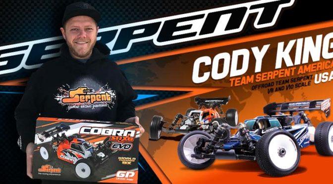 Cody King wechselt zu Team Serpent Offroad