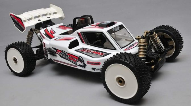 RR5 Max Pro CF Rolling Chassis inkl. Reso