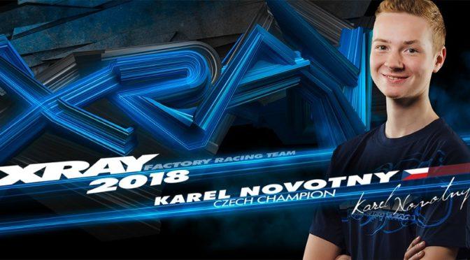 Kaja Novotny verlängert bei Xray