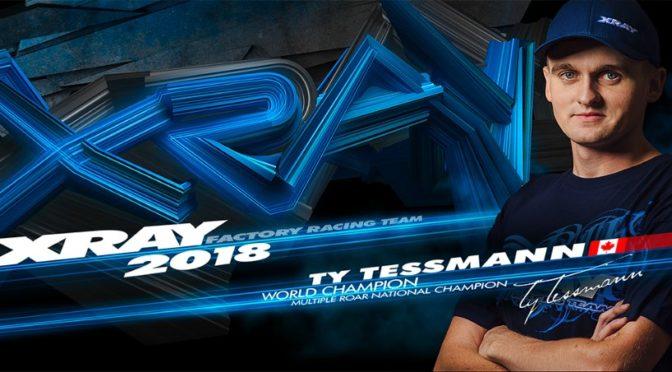 Ty Tessmann verlängert bei XRAY