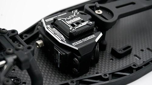 Aluminumhalter YD-2 für Servo und Gyro