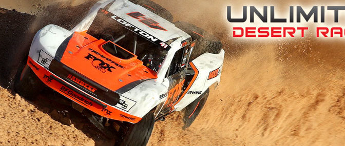 Traxxas Unveils the New Unlimited Desert Racer