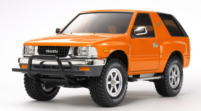 1:10 RC Isuzu Mu Type X CC-01 Bausatz/Kit