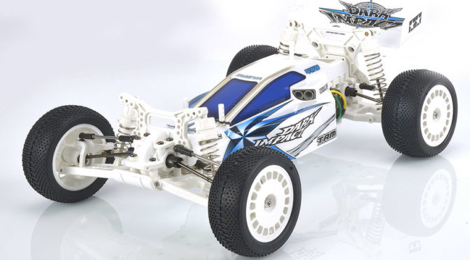 1:10 RC Dark Impact White Version DF-03