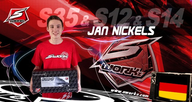 Jan Nickels im SWORKz Team Germany