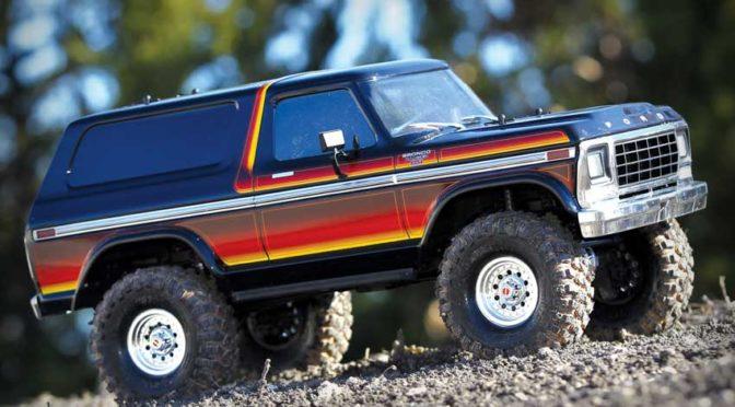 TRAXXAS TRX-4 1979er Ford Bronco (312mm Radstand kurz) 1/10