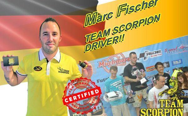 Marc Fischer bei Team Scorpion