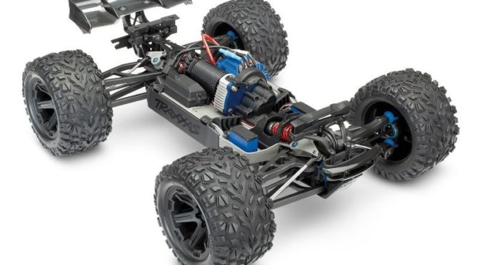 TRAXXAS E-Revo Brushless RTR – Racing Truck Version 2018