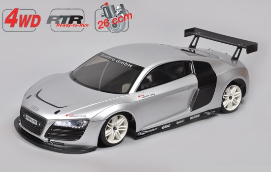 Sportsline 4WD-530 Chassis mit Audi R8 – RTR