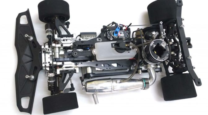 "KM K8 EVO ""Killer Eight"" GP On-Road Wettbewerbsfahrzeug 4WD M1:8"