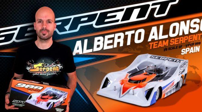 Alberto Alonso wechselt ins Team Serpent
