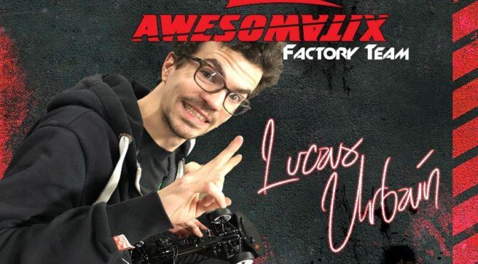 Lucas Urbain wechselt zu Awesomatix 💪🏻🏁🇫🇷