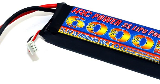 HRC Racing 3S 6000mAh Akku Pack