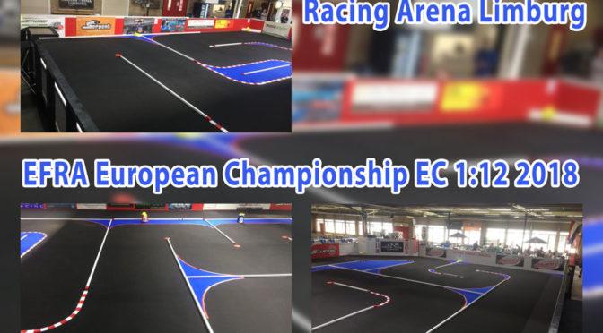 EFRA European Championship EC 1:12 2018 in der Racing Arena Limburg