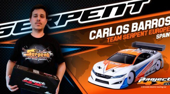 Carlos Barros von Spanien wechselt zu Team Serpent 4X