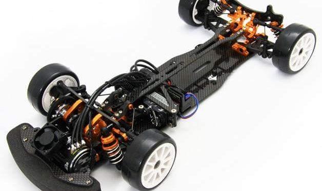 ZERO TRIBE – XrayT4 FWD-Umbaukit