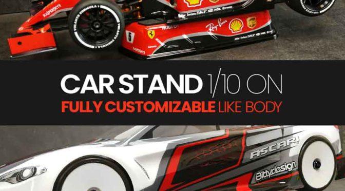Bittydesign – Fahrzeug-Stand für 1/10 TW und F1