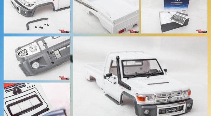 Toyota Land Cruiser 70 – Scale Karosserie im Test