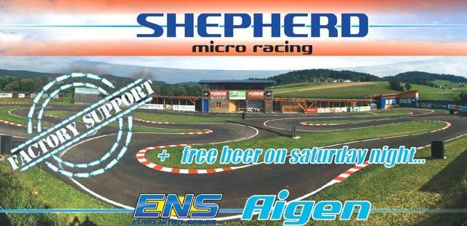Shepherd Micro Racing – Factory Support beim ENS R3