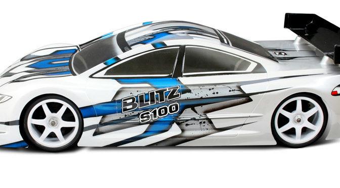 BLITZ  S100 Elektro 1/10 TC Karosserie