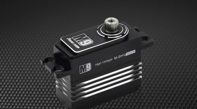 Power HD 1:12 Servo M9 mit Full Metall Gehäuse