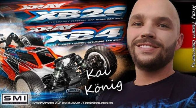 Kai König im Team Xray Germany