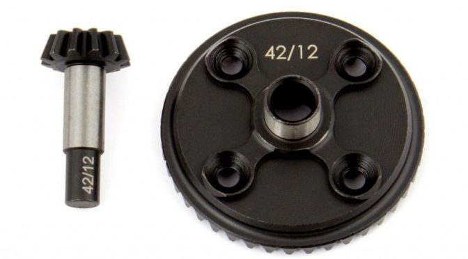 RC8B3.1 Underdrive Differential Gear Set