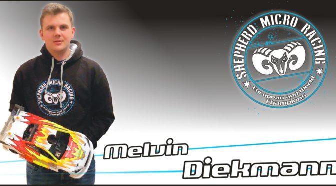 Melvin Diekmann im Team Shepherd Micro Racing