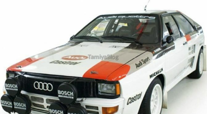 Tamiya Audi Quattro Rally