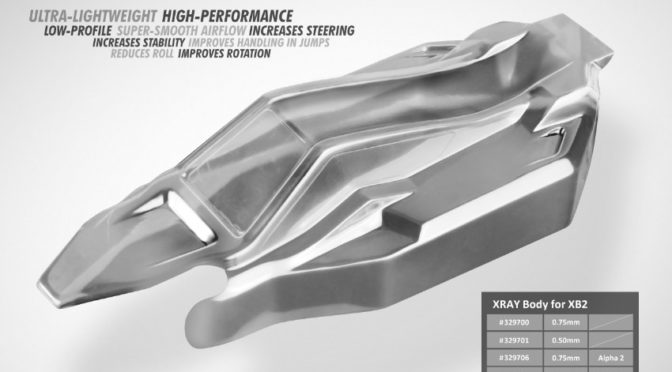 Xray – Karosserie für 1/10 2WD Off-Road Buggy – Beta 2 – Leicht