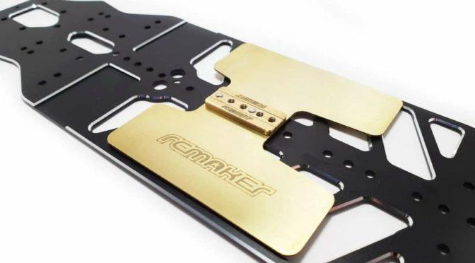 RC Maker – Floating Elektronikplatte aus Messing