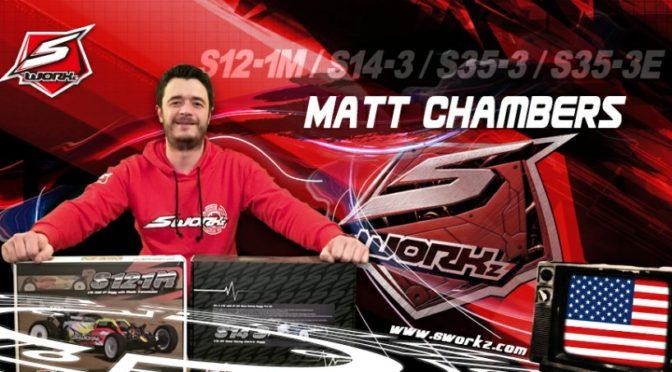 Matt Chambers im SWORKz Team