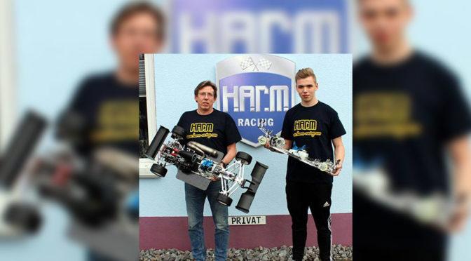 Tobias Brandlhuber unterstützt das H.A.R.M. Team in 2019