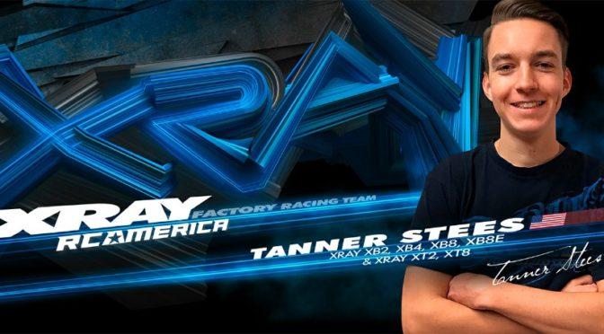 Tanner Stees weiter beim XRAY Factory Team