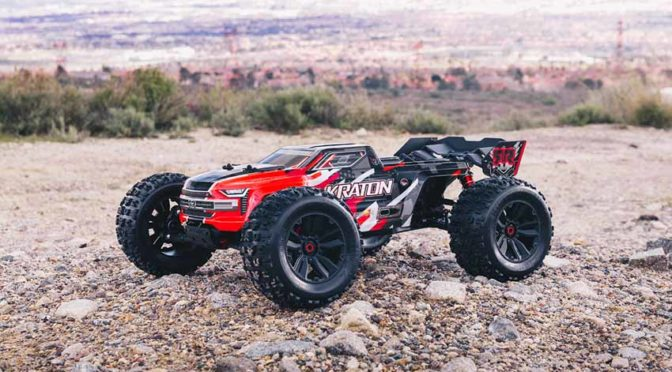 ARRMA® KRATON ™ 6S BLX 4WD Speed Monster Truck mit SPEKTRUM TECHNOLOGIE