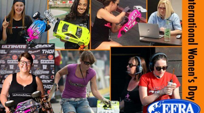 Weltweit sind Frauen im RC-Bereich vertreten