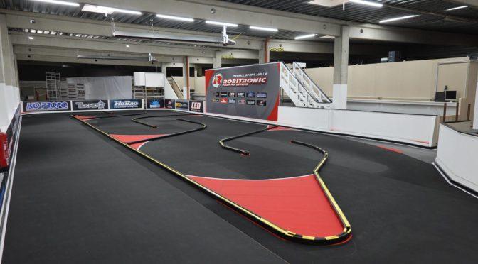 Die Modellsporthalle in Wien bei Robitronic