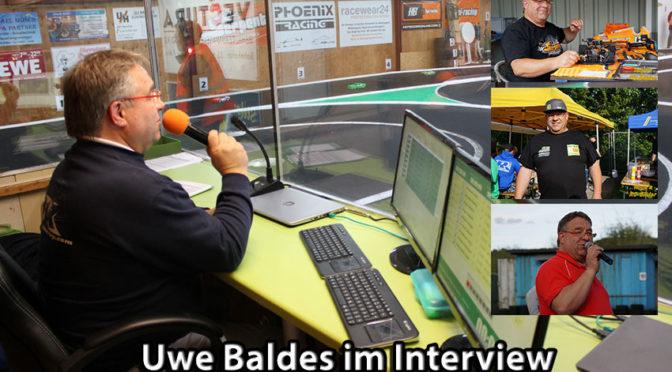 Uwe Baldes lebt den RC-Car Sport mit Herz und Leidenschaft