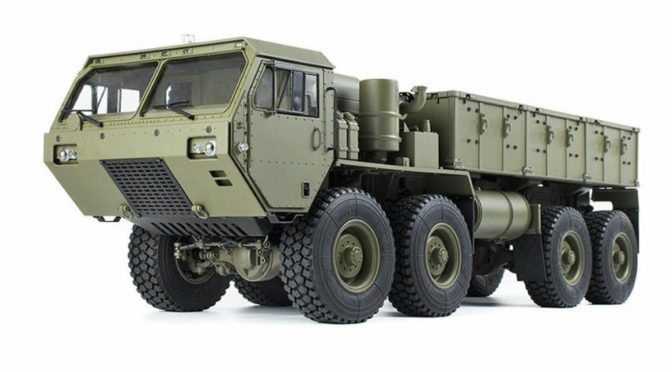 HG-P801 1/12 8X8 Military Truck ARTR w/ 2.4GHz Remote, Sound & Light Upgrades
